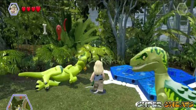 Sick Dinosaurs - Lego Jurassic World