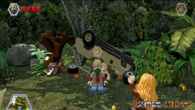 Workers in peril lego jurassic world worker 12 the lost world long grass the worker here is trapped under a vehicle so head over there and pull him free gumiabroncs Images