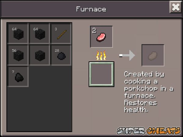 The crafting menus minecraft pocket edition in addition to smelting ore your furnace is crucial for cooking food forumfinder Images