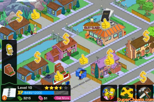 part 07 the middle stage level 12 the simpsons tapped out rh supercheats com Bart Simpson Bart Simpson