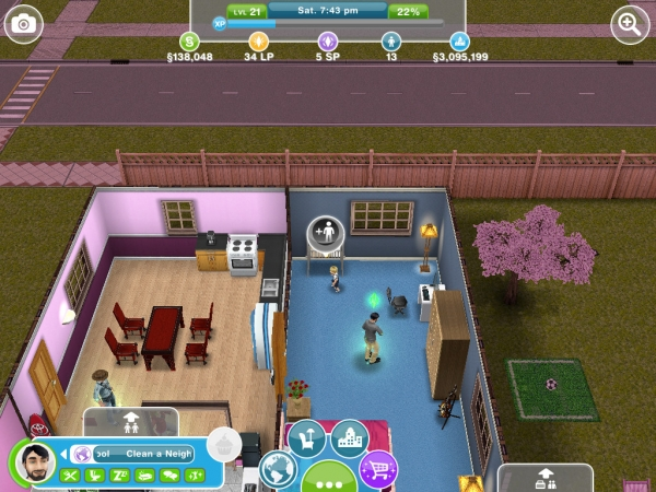 Playing Your First Sim - The Sims FreePlay