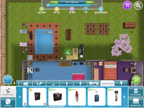 Free Items and Objects. Free Items and Objects   The Sims FreePlay