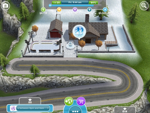 the snow park the sims freeplay