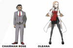 Chairman Rose & Secretary Oleana Introduced For Pokemon Sword & Shield